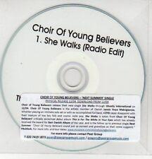 (AY351) Choir of Young Believers, She Walks - DJ CD
