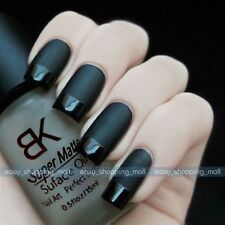 15ml Magic Nail Art Polish Color Supper Matte Dull Effect Finisher Top Coat Oil