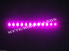"JEEP PINK  12"" 5050 SMD LED STRIPS  NEW  2 STRIPS TOTAL OF 24 LEDS"