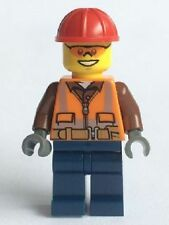 LEGO 60098 City Town Cargo Train Worker Minifigure NEW