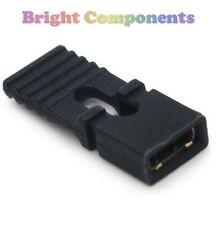 10x Black PCB / Header Pull Tab Jumper Links 2.54mm - UK - 1st CLASS POST