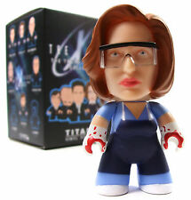 "Titans THE X-FILES Mini Series DANA SCULLY VARIANT 1/40 Chase 3"" Vinyl Figure"