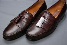 NEW $150 JOHNSTON & MURPHY brown Breland Kiltie Tassel loafers shoes 13 M