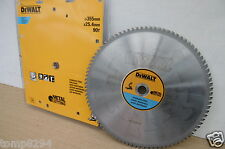 DEWALT DT1922 355MM 90T TCT STAINLESS STEEL CUTTING SAW BLADE DW872 CHOPSAW