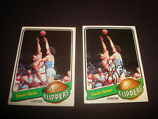 Swen Nater 1979-80 Topps #109 Clippers UCLA Signed Authentic Autograph N13