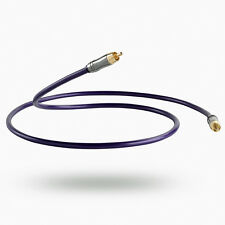 QED rendimiento Digital Coaxial Audio 1m 75Ω Cable de interconexión Custom 1.0m