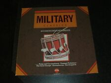 "Military Classics,3 x 12"" Vinyl LP Box Set, Telstar, Box and vinyl in vgc"