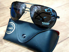 Polarized / Polarised Unbreakable lens aviator Styl Sunglasses (Goggles) + Cover
