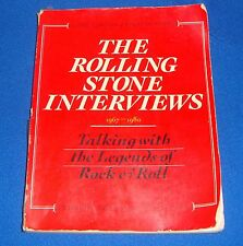 The Rolling Stone Interviews 1967-1980 426 Pages