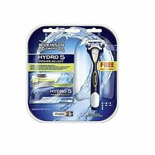 Wilkinson by Schick Hydro 5 Power Select Razor + 5 Power Select Cartridges