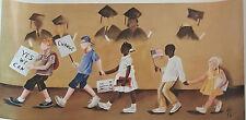 """African American Art Annie Lee """"CHANGE""""/ Obama Print/Black Americana"""