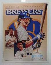 NOLAN RYAN 300TH WIN TICKET & PROGRAM JULY 31, 1990 MILWAUKEE BREWERS VS RANGERS