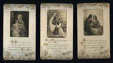 lotto santini-holy cards lot-lot images pieuses-konvolut heiligenbildichen n.430