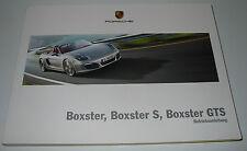 Betriebsanleitung Porsche Boxter / Boxter S / Boxter GTS Stand Juli 2014!