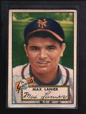 1952 TOPPS #101 MAX LANIER VG-EX D3877