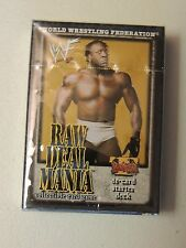 Booker T WWF RAW DEAL CCG MANIA Sealed STARTER DECK WWE Hall of Famer NIB