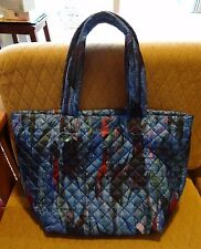 MZ Wallace Medium Metro Tote Blue Orchid Quilted Oxford Nylon 2015 Mother's Day