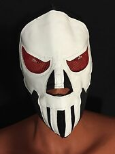 RED BLOODY EYES PUNISHER!! WRESTLING-LUCHADOR MASK!!AWESOME!!GREAT MASK!!