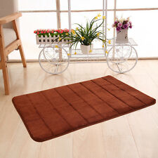 New Soft Memory Foam Bath Bedroom Bathroom Floor Shower Mat Rug Non-slip