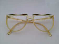 GIANNI VERSACE GLASSES BRILLE  WOMAN Vintage ages 80's  NERD 424 DE