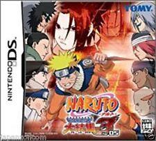 Used DS Naruto: Saikyo Ninja Daikesshu 3 NINTENDO JAPANESE IMPORT