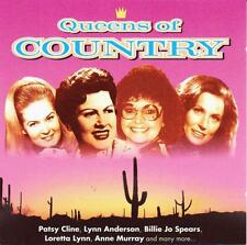 QUEENS OF COUNTRY - VARIOUS ARTISTS (NEW CD) Patsy Cline-Patti Page-Loretta Lynn