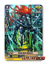 Cardfight Vanguard  x 4 Grave Horn Unicorn - G-BT06/062EN - C Mint