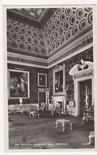 The Saloon, Holkham Hall Norfolk RP Postcard, B342
