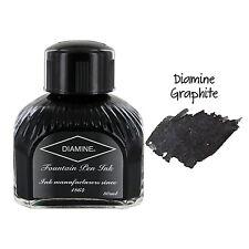 Diamine Fountain Pen Bottled Ink, 80ml - Graphite