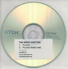 (AB3) The Mary Onettes, Puzzles - DJ CD