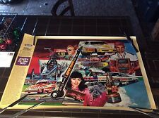NHRA Winston Drag Racing Champions Poster racing in the 80s mint
