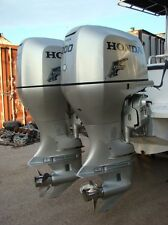 "Pair of 2002 Honda 200 HP 4-Stroke 25"" Outboard Motors"