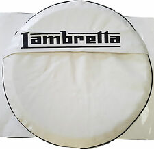 ukscooters LAMBRETTA POCKET SPARE WHEEL COVER 10 INCH WHEELS GP/LI/TV/SX