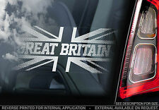 Union Jack - Car Window Sticker - Great Britain England Sign Flag - n.bumper
