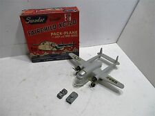FAIRCHILD XC-120 PACK PLANE MINT IN BOX WITH JEEP AND TANK