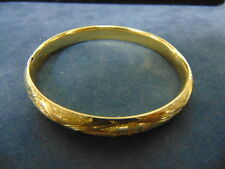 LOVELY WOMENS VINTAGE ESTATE 14K YELLOW GOLD BRACELET, 9.8g  E815