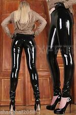 100%Latex Rubber Gummi Legging 0.48mm Catsuit Pants Suit Trousers Classic