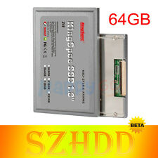 1.8 KingSpec ZIF CE 64GB MLC SSD For HP Compaq 2510p 2710P Inspiron Mini 12 1000
