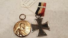 1897 Kaiser Wilhelm Centenary medal & Iron Cross
