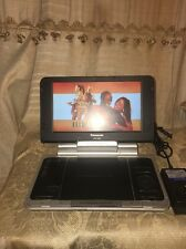 "NICE Panasonic DVD-LS80 portable dvd player,8"" screen Fully Functional"