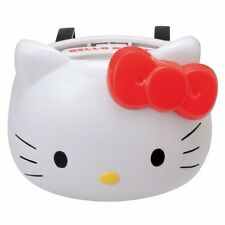 Seiwa Hello Kitty Car Accessory White Face Drink Bottle Holder KT284 NEW JAPAN