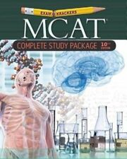 10th Edition Examkrackers MCAT Complete Study Package Brand New Sealed