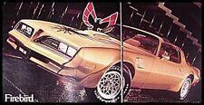 1978 Pontiac Deluxe Brochure- Firebird, LeMans!
