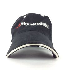 Mitsubishi Forklift Trucks Black Baseball Cap Hat Adjustable Adult Size Cotton