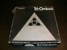 VINTAGE 1968 Tri-Ominos The Triangle Board Game #4420 PRESSMAN COMPLETE