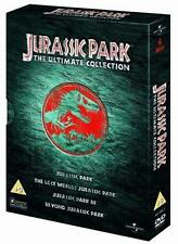 Jurassic Park - The Ultimate Collection (DVD, 2005, 4-Disc Set, Cofanetto)