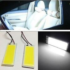 2 x new White 36-COB LED Panel HID Bulb Car Vehicle Interior Map Dome Door Light