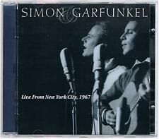 SIMON & GARFUNKEL LIVE FROM NEW YORK CITY 1967 CD