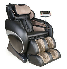 Black Osaki OS-4000 Zero Gravity Massage Chair Recliner + Heat Therapy  Warranty