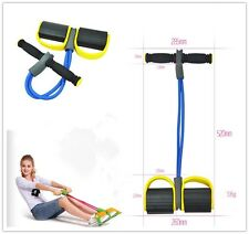 1pcs Yellow Body Tummy Action Rower Abdominal Exercise Fitness Equipment Z